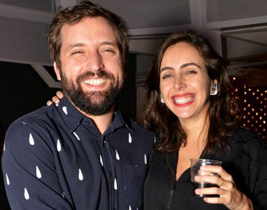 Gregorio Duvivier e Giovanna Nader