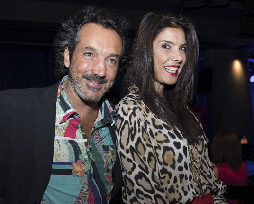 Irajá Carneiro e Patricia Brandão