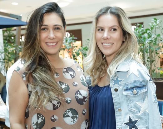 Isabela Bussade e Julia Perez