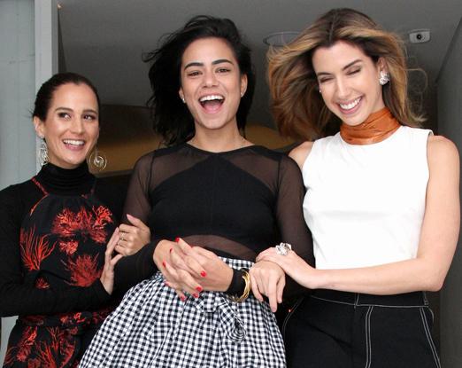 Joana Nolasco, Aline Cury e Camila Coutinho