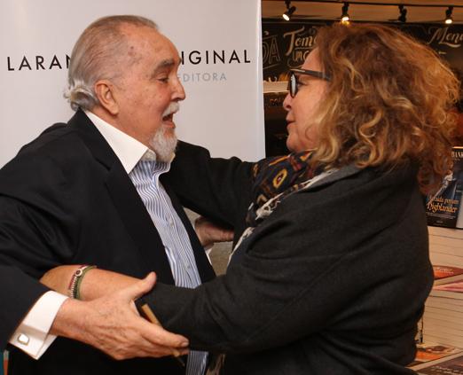 Jorge da Cunha Lima e Joyce Pascowitch