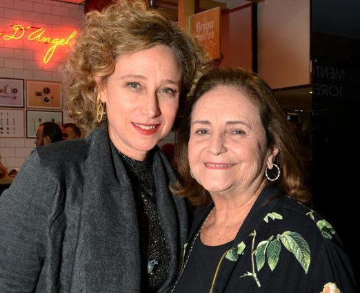 Kátia Bronstein e Lucinha Araújo