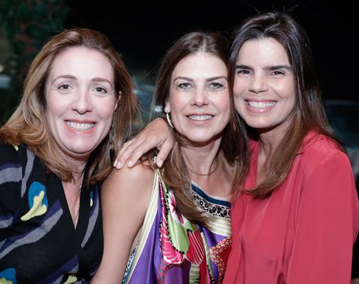 Kiki Gouvea, Tininha Tostes e Ana Paula Jardim