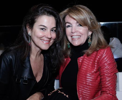Loreta Gama e Sonia Simonsen