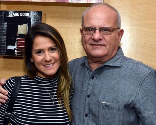 Luis Erlanger e a filha Julia