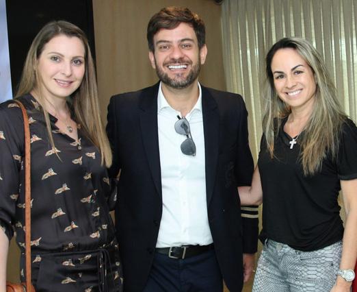 Maisa Vasconcelos, Bruno Astuto e Patrice Pessoa
