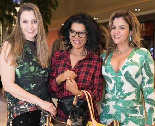 Maisa Vasconcelos, Elsaine Von Blanckenhagen e Dani Papini