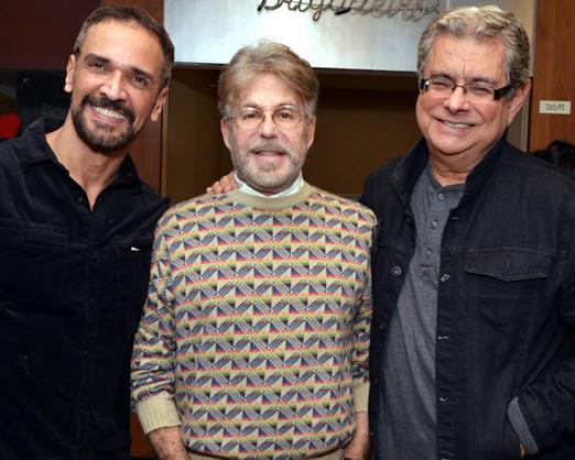 Marcelo Saback, Edwin Luisi e Flavio Marinho