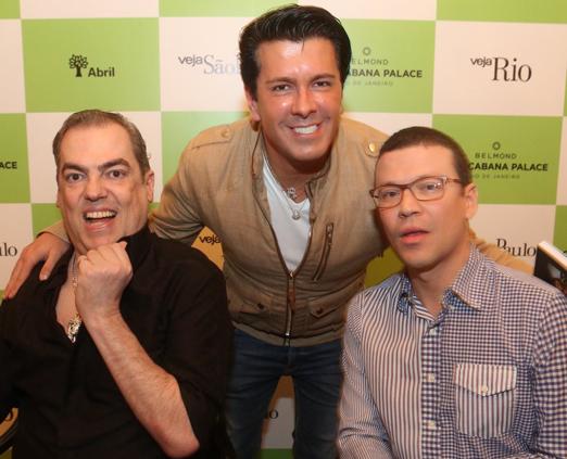 Marco Antonio de Biaggi, André Ramos e João Batista Jr