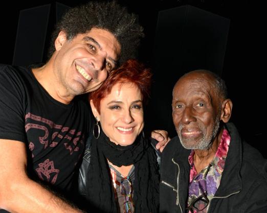 Marcos Sacramento, Soraya Ravenle e Nelson Sargento