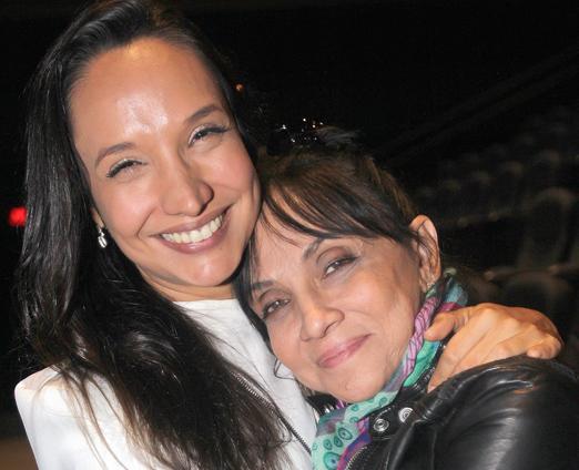Maria Maya e Cininha de Paula
