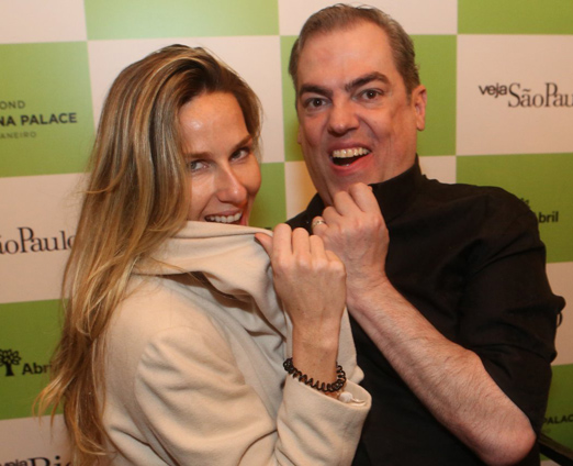 Mariana Weickert e Marco Antoonio de Biaggi