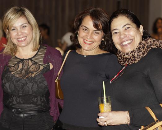 Mercedes Herrera, Bel Gasparian e Claudia Cury