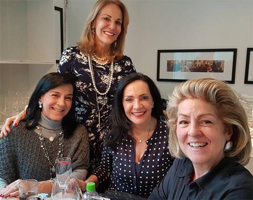 Monica Clark, Ana de Paula, Liliana Rodriguez e Margaret Padilha