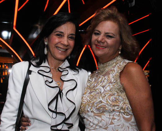 Monica Clark e Rosana Rodrigues