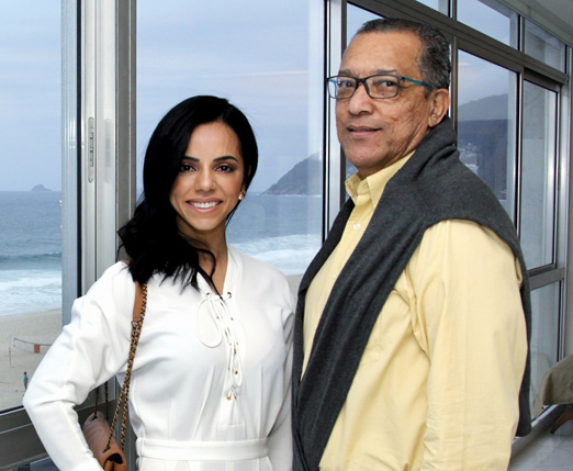 Monique Elias e Amaro Leandro