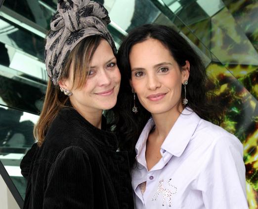 Natasha Novis e Gisela Pecego
