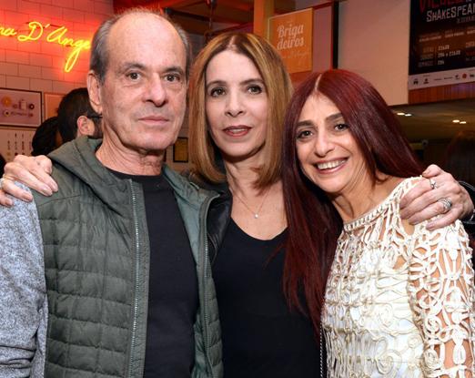 Ney Matogrosso, Liège Monteiro e Cinthya Graber