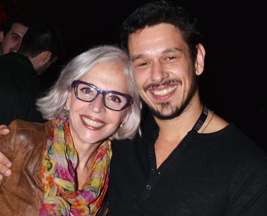 Olivia Byington e João Vicente de Castro
