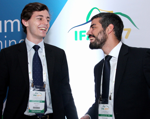 Pedro Grillo e Eduardo Muniz