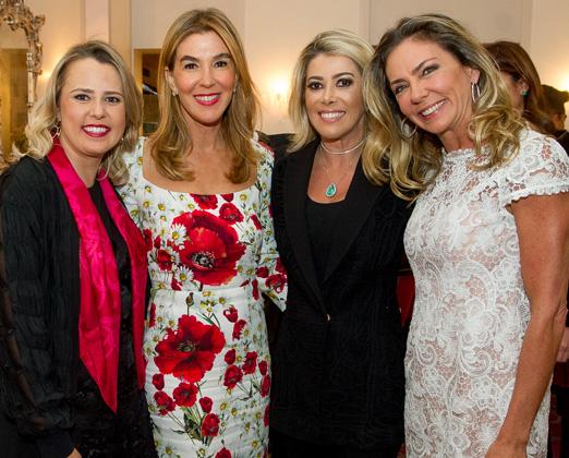 Priscila Palma, Beth Floris, Claudia Martinez e Márcia Veríssimo
