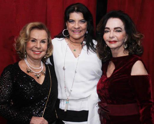 Rachel Gusmão, Rose May Addario e Vera Loyola