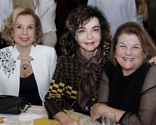 Rachel Gusmão, Vera Loyola e Anna Ramalho
