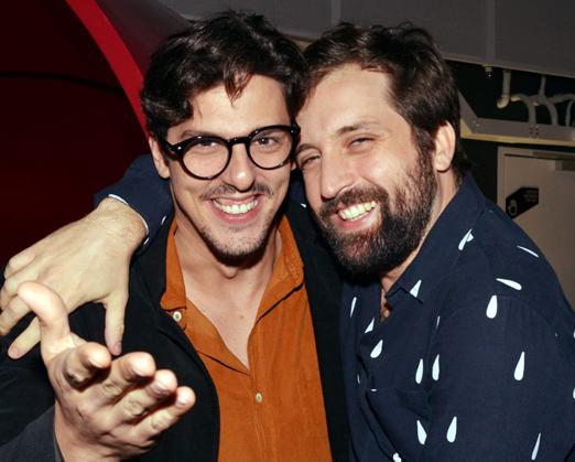 Rafael Infante e Gregório Duvivier
