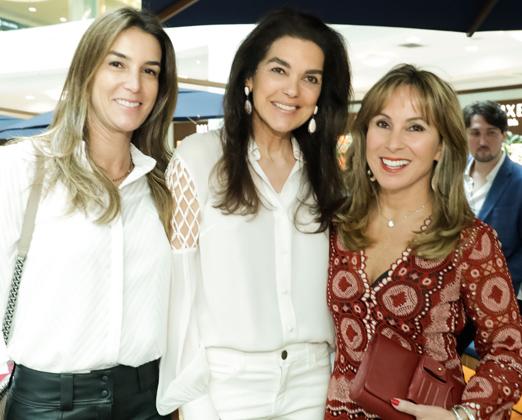Renata Corsetti, Beth Accurso e Andrea Rudge
