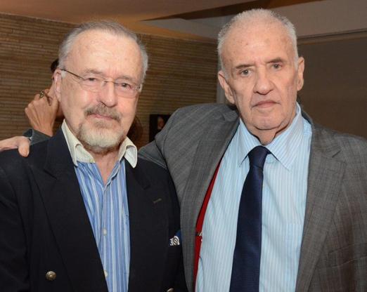 Ricardo Cravo Albim e Carlos Nejar