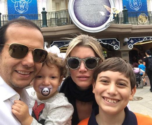 Rodrigo Mangaravite, Tati, Sara e Henrique