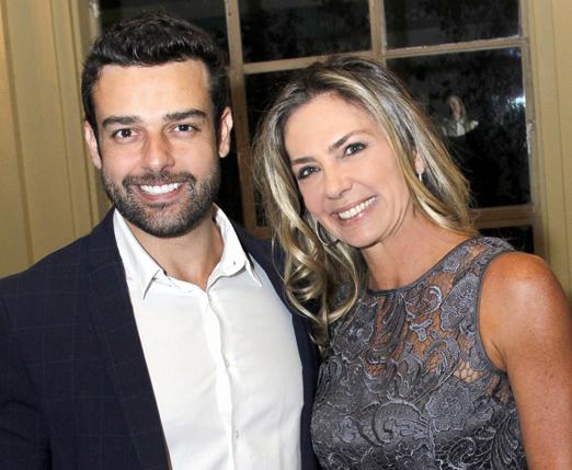 Romualdo Lima, o Doutor Doc, com Márcia Veríssimo