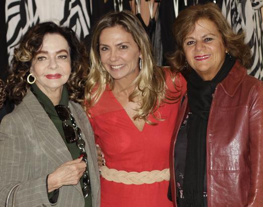 Vera Loyola, Márcia Veríssimo e Rosana Rodrigues