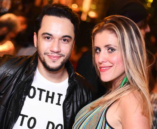 Vinicius Belo e Bruna Barros