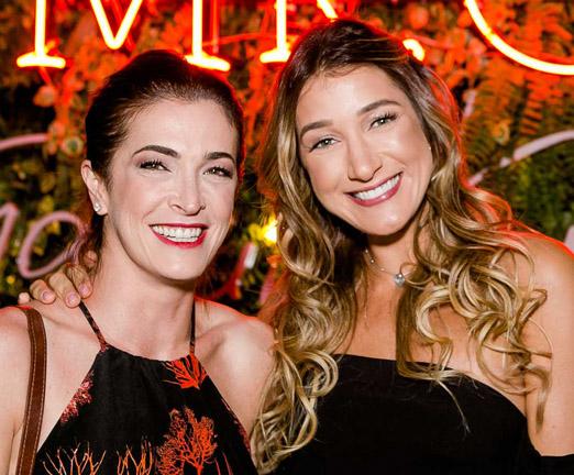 Adriana Svartsnaider e Gabriela Pugliesi