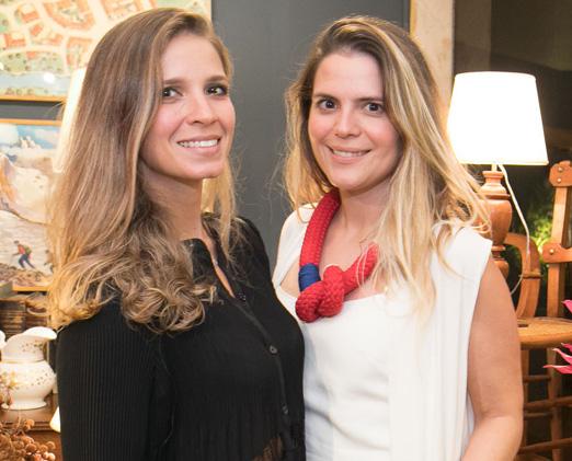 Aline Araújo e Paloma Danemberg