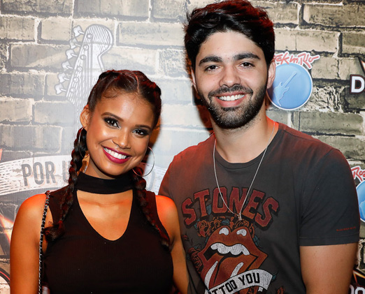 Aline Dias e Rafael Cupello