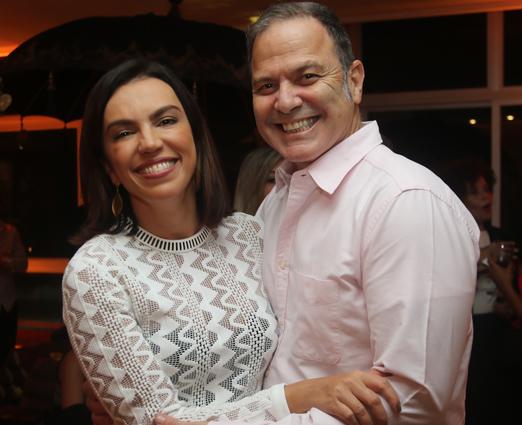 Ana Paula Araújo e Aloísio de Abreu