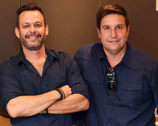 André Serra e Alexandre Lobo