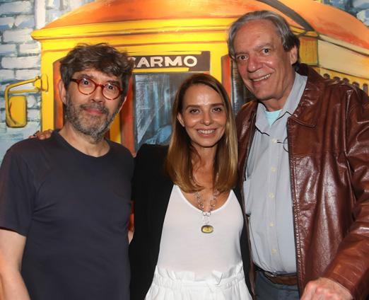 Aroeira, Rose Rodrigues e Chico Caruso