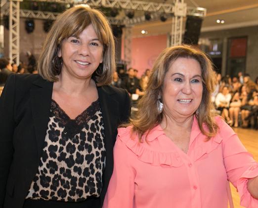 Auriete Middleton e Theresa Macedo