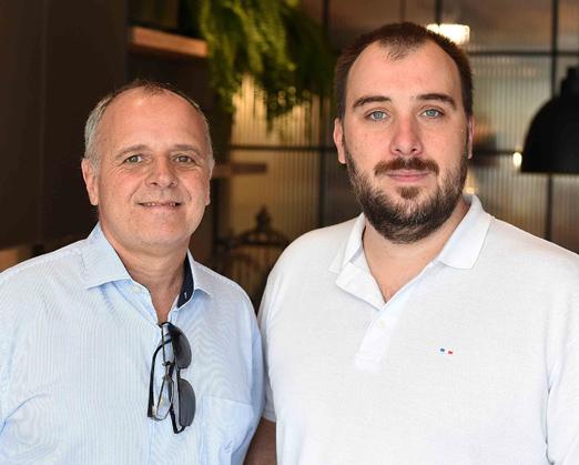 Chico Vartulli e Gabriel Dile