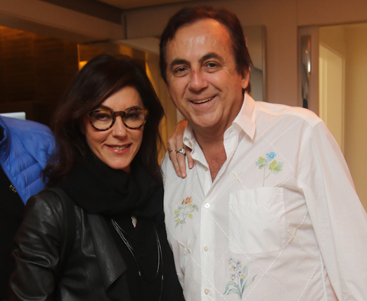 Christiane Torloni e Ricardo Rique