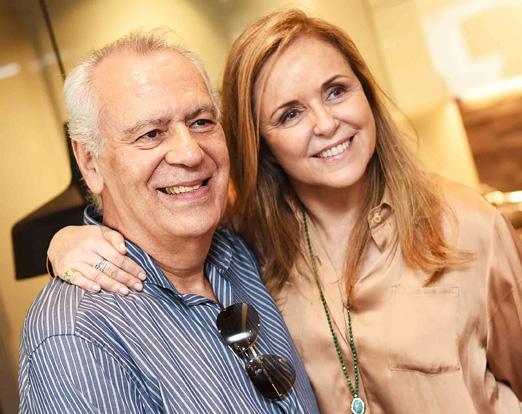 Claudio Prado e Eliane Couto