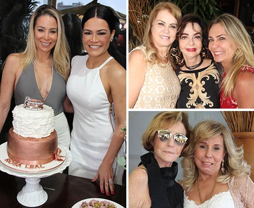 Danielle Winits, Rosa Leal, Inez Costa, Vera Loyola, Márcia Veríssimo, Lea Nigri e Viviane Cohen