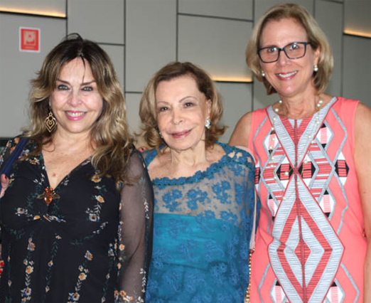 Eliana Ovalle, Ilka Bambirra e Sylvia Jane Crivella