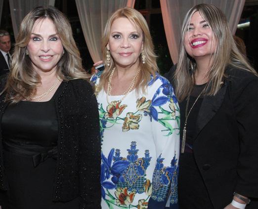 Eliana Ovalle, Thelma Guimarães e Georgiana Guinle