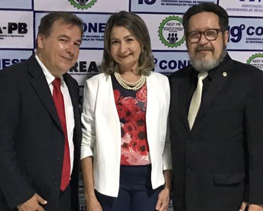 Evaldo Valladão, Maria Aparecida Estrela e Alexandre Mosca