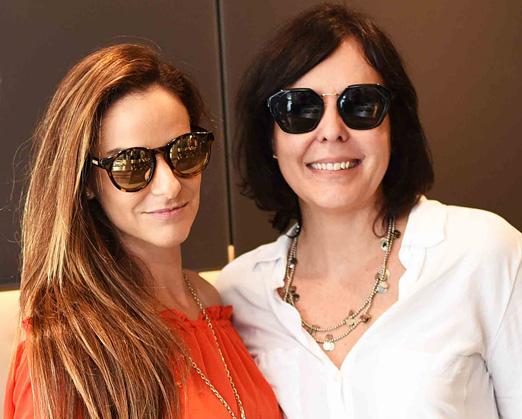 Flavia Lucas e Adriana Esteves