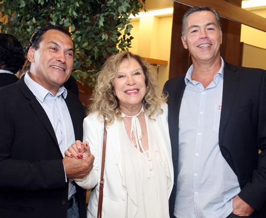 Geraldo Monge, Janine Goossens e Eduardo Vaz